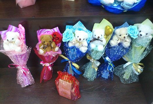 Фото букет из мягких игрушек своими руками 35